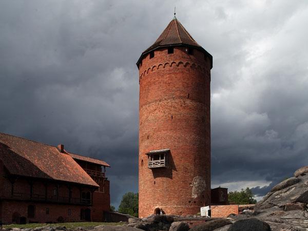 Mittelalterliche Architektur in Livland